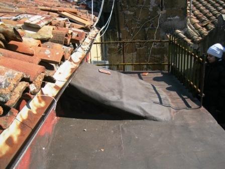 piccolo solarium sui tetti