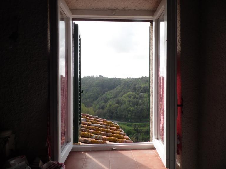 tre finestre vista vallata sud