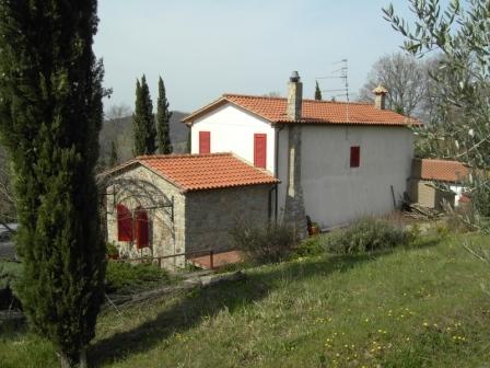 VENDESI Fabbricato - Monte Buono GR - Campagna